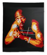 Tupac Pray For A Brighter Day Fleece Blanket