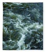 Turbulance At Loch Ness Fleece Blanket