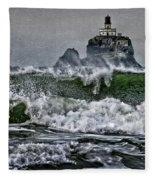 Turbulent Waters Fleece Blanket