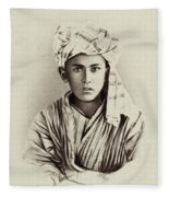 Turkestan Mazang, C1865 Fleece Blanket