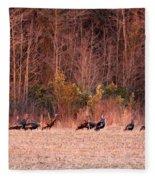 8964 - Turkey - Eastern Wild Turkey Fleece Blanket