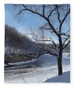 Turkey River Fleece Blanket
