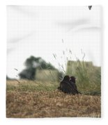Turkey Vultures Fleece Blanket