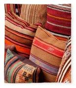 Turkish Cushions 03 Fleece Blanket