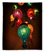 Turkish Lights Fleece Blanket