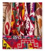 Turkish Textiles 03 Fleece Blanket