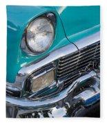 Turquoise 1956 Belair Fleece Blanket