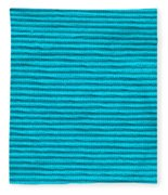 Turquoise Cloth Fleece Blanket