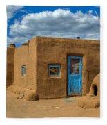 Turquoise Haven Fleece Blanket