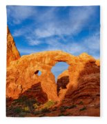 Turret Arch Fleece Blanket