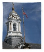 Turret Main Post Office Annapolis Fleece Blanket