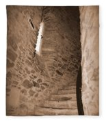 Turret Staircase Fleece Blanket