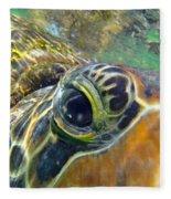 Turtle Eye Fleece Blanket