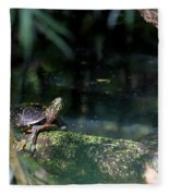 Turtle Grotto Fleece Blanket