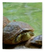 Turtle Ninjas Fleece Blanket