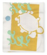 Turtle Pond Fleece Blanket