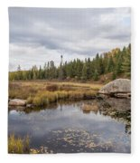 Turtle Rock Cloudy Day Fleece Blanket