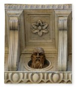 Tuscan Architectural Details Fleece Blanket