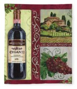 Tuscan Collage 1 Fleece Blanket