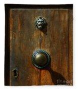 Tuscan Doorknob Fleece Blanket