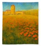 Tuscan Gold 1 Fleece Blanket