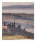 Tuscan Morning Fleece Blanket