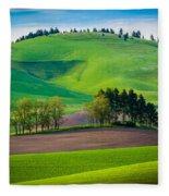 Tuscan Palouse Fleece Blanket