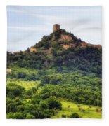 Tuscany - Castiglione D'orcia Fleece Blanket