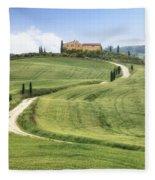 Tuscany - Val D'orcia Fleece Blanket