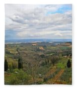 Tuscany Life Fleece Blanket