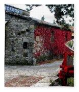 Tuscany Vineyard  Fleece Blanket