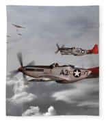 Tuskegee Airmen Fleece Blanket