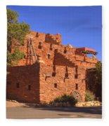 Tuzigoot Museum And Ruins Arizona Fleece Blanket
