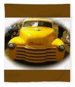 Tweety Bird Chevrolet Pickup Truck Fleece Blanket