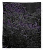 Twilight In Wonderland Fleece Blanket