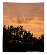 Italian Landscape - Twilight Of The Gods 2 Fleece Blanket