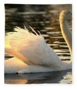 Twilight Swim Fleece Blanket