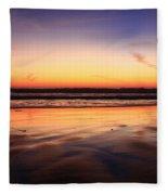 Cardiff By The Sea Glow Fleece Blanket