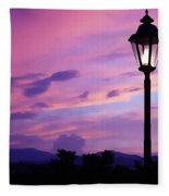 Twilight Time Fleece Blanket
