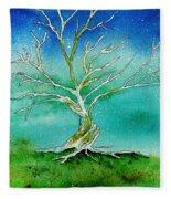 Twilight Tree Fleece Blanket