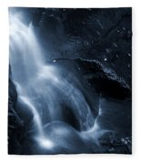 Twilight Waterfall Fleece Blanket