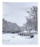 Twin Bridges Fleece Blanket