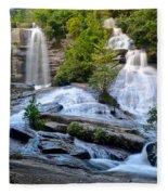Twin Falls South Carolina Fleece Blanket