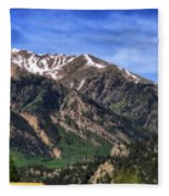 Twin Lakes Colorado Fleece Blanket