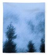 Twin Lakes Rain Fleece Blanket
