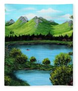 Twin Ponds Fleece Blanket