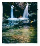 Twin Waterfall Fleece Blanket