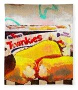 Twinkies Cupcakes Ding Dongs Gone Forever Fleece Blanket