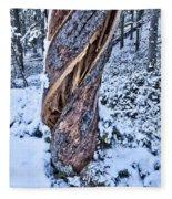 Twisted Fleece Blanket