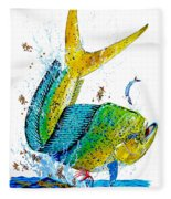 Twisted Mahi Fleece Blanket